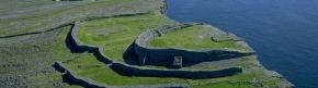 Dun Anghusa on the Aran islands. A response to fear of the Tuatha de Dananns