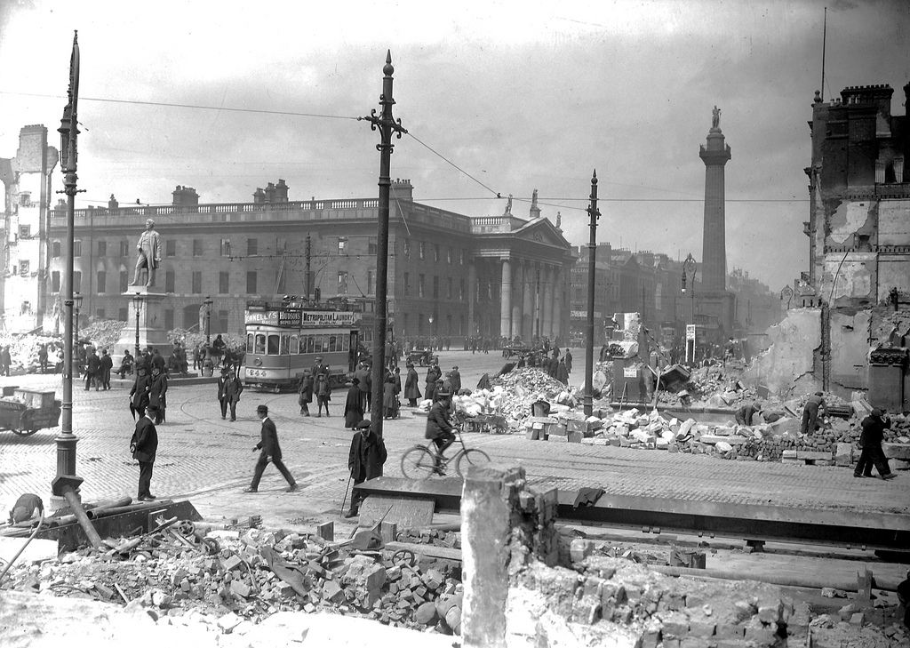 Dublin after the 1916 rising